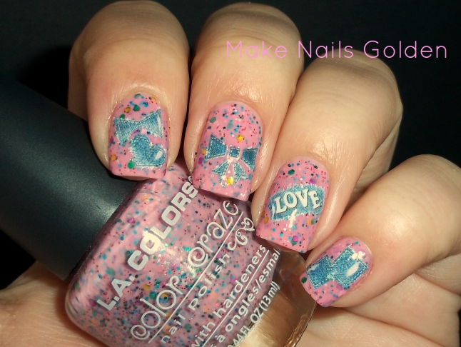 #usaloya L.A Colors Candy Sprinkles / Ungles dolçes